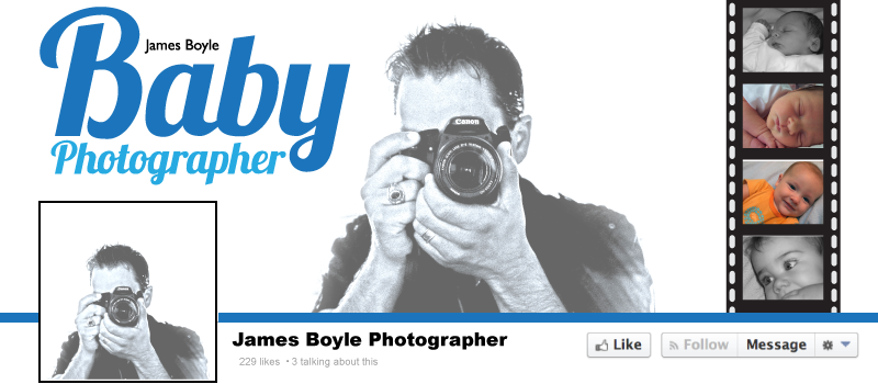 Facebook Banner James Boyle BabyPhotographer